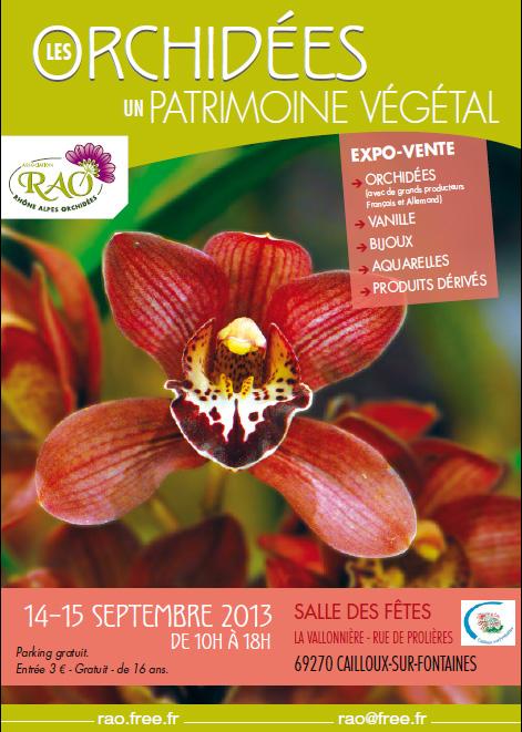 Affiche Expo-Vente RAO Cailloux-sur-Fontaine