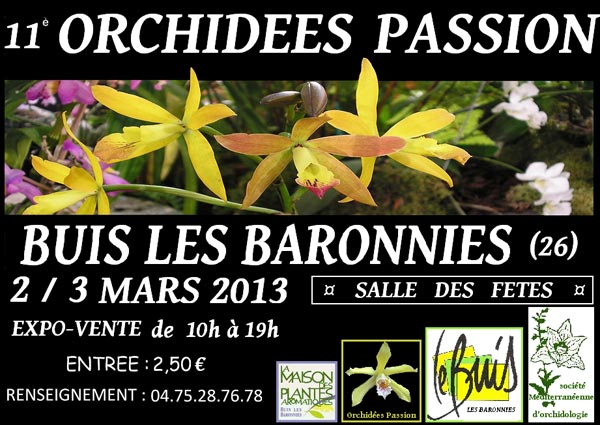 Orchidées passions